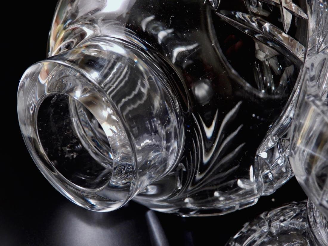 Heavy Crystal Hurricane Glass Candleholder Lusters with - 4