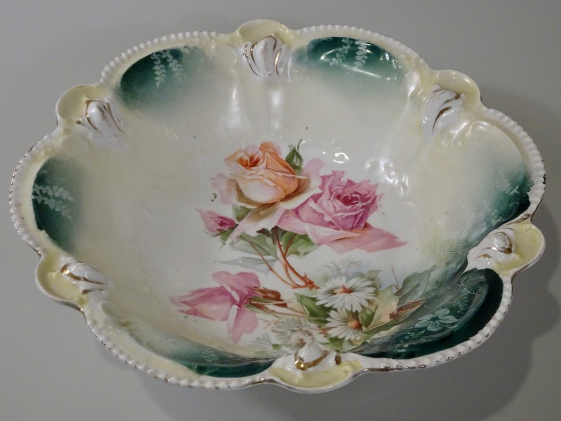 Antique RS Prussia Bowl Reinhold Schlegelmilch Suhl