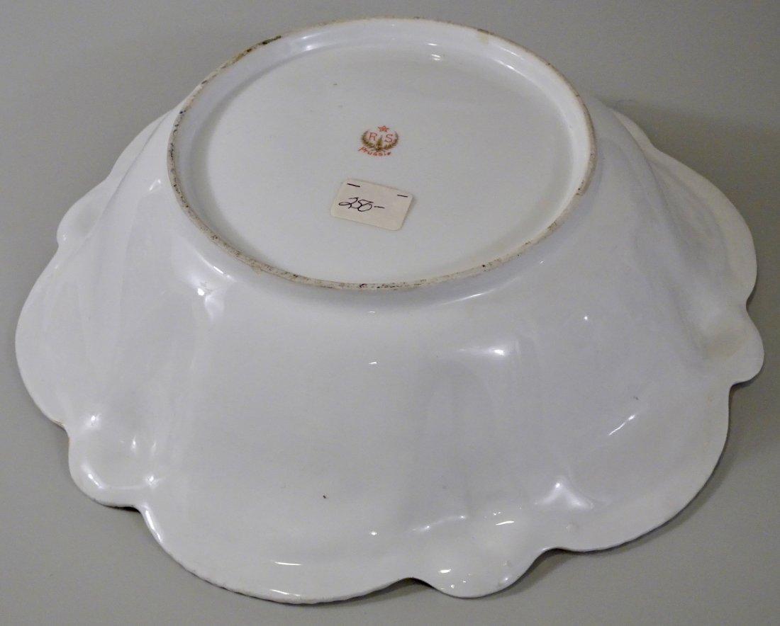 Antique RS Prussia Bowl Reinhold Schlegelmilch Suhl - 4