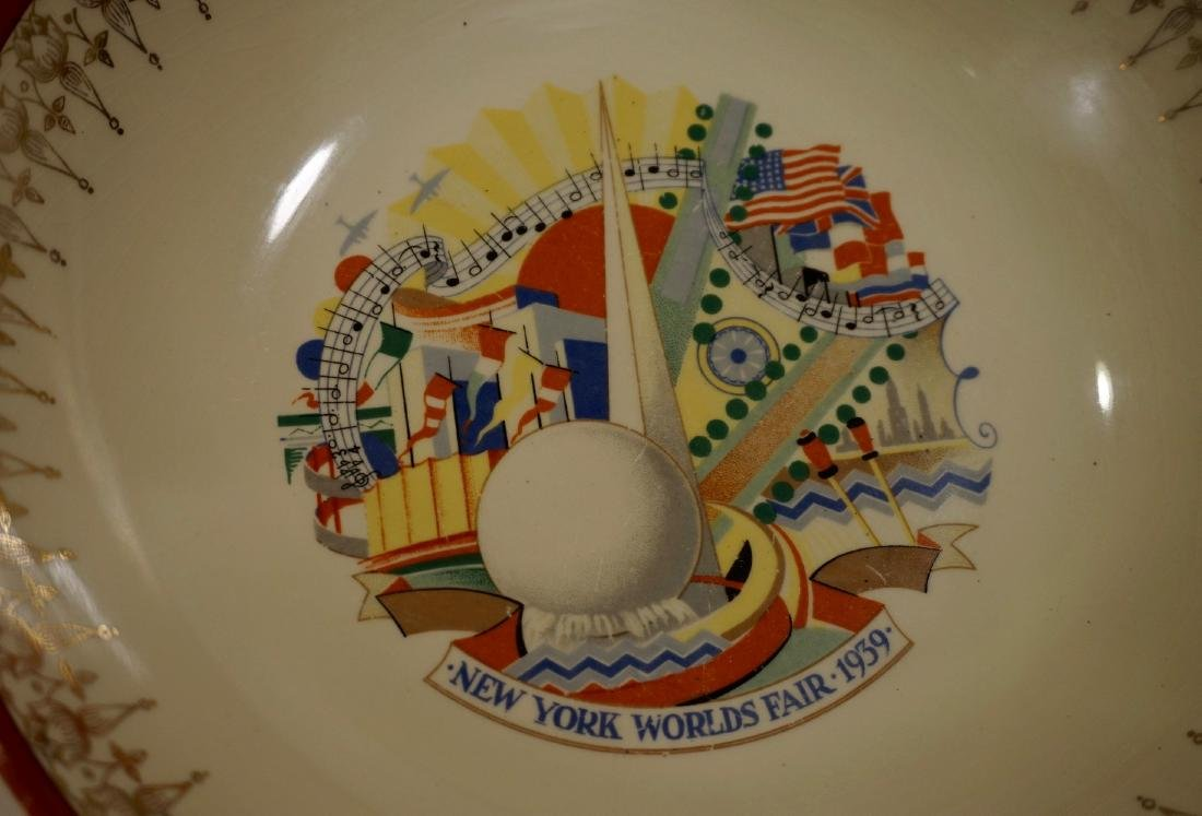 1939 New York World Fair Paden City Pottery Souvenir - 4