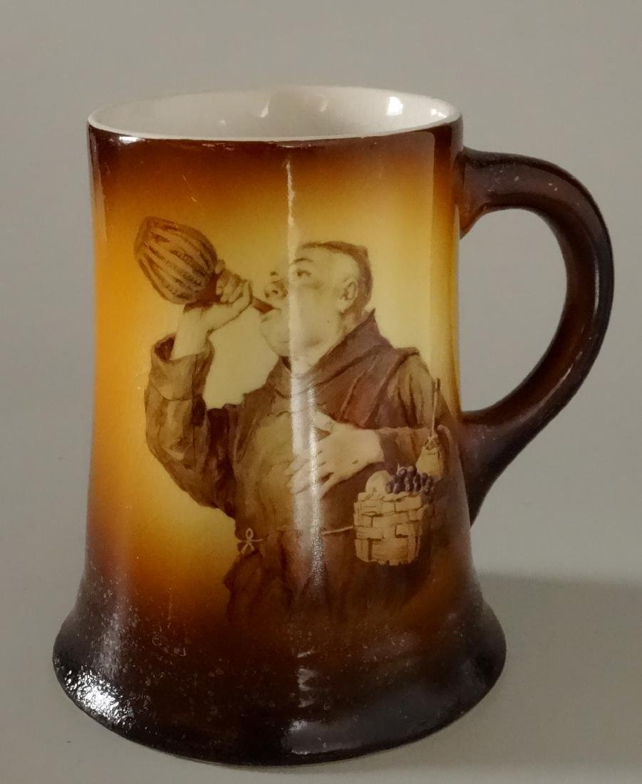 Vintage Monk Wine Mug Beer Stein Warwick Ioga China