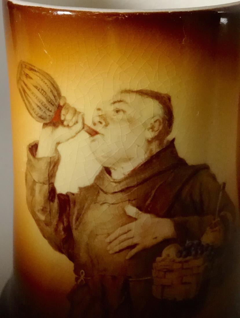 Vintage Monk Wine Mug Beer Stein Warwick Ioga China - 4