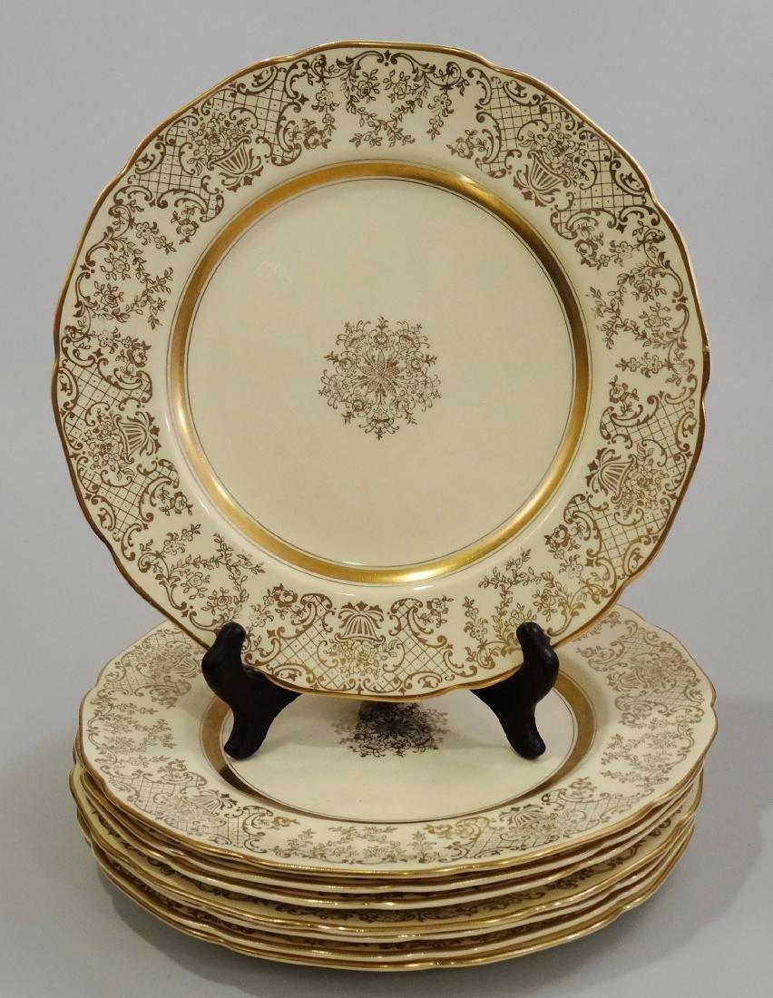 Vintage Johnson Brothers Victorian English China Plates