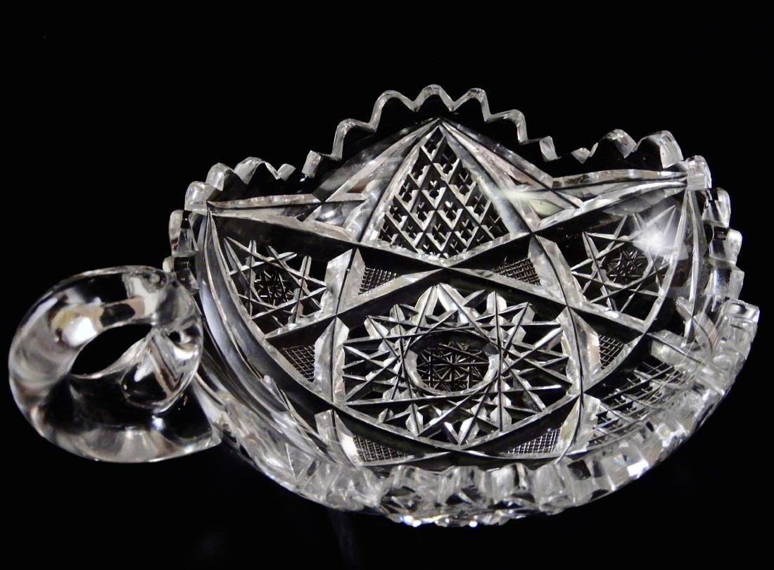 ABP Cut Crystal Nappy Dish - 3