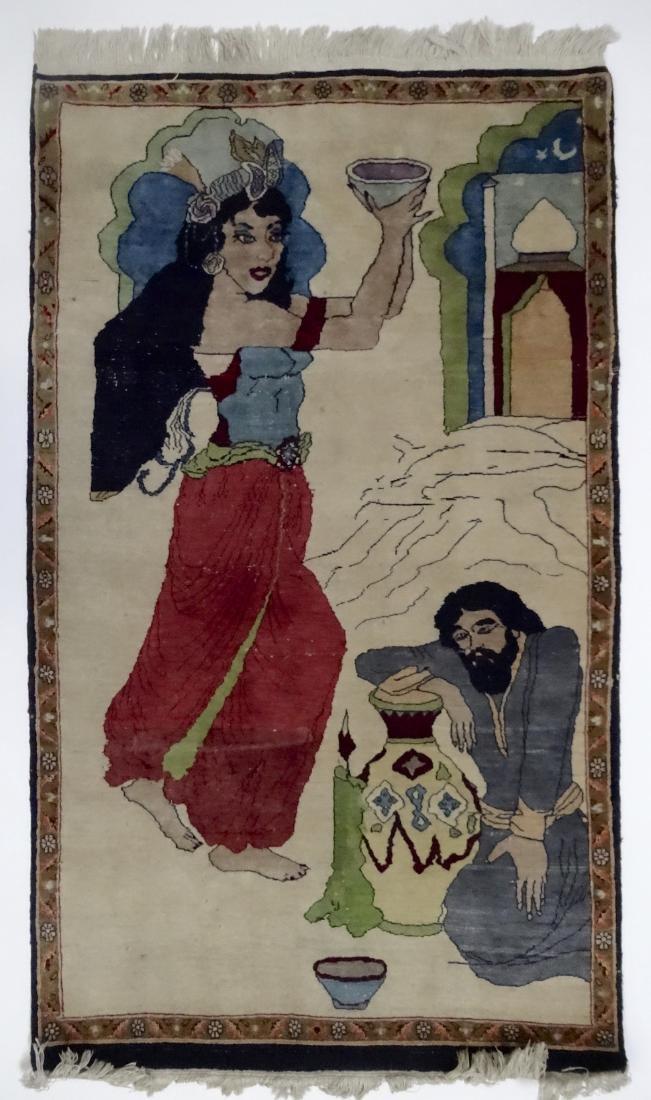 Pictorial Arabic Carpet