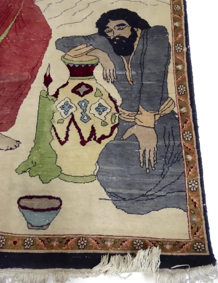 Pictorial Arabic Carpet - 2