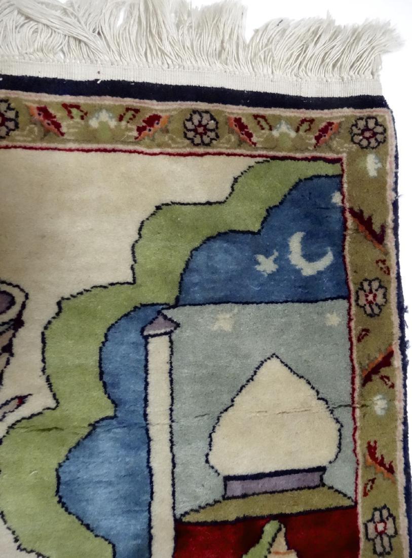 Pictorial Arabic Carpet - 5