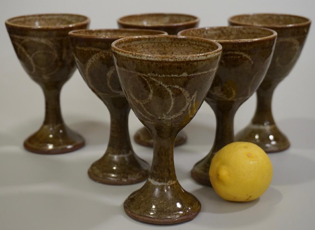 Mid Century Studio Pottery Stoneware Glazed Ceramic