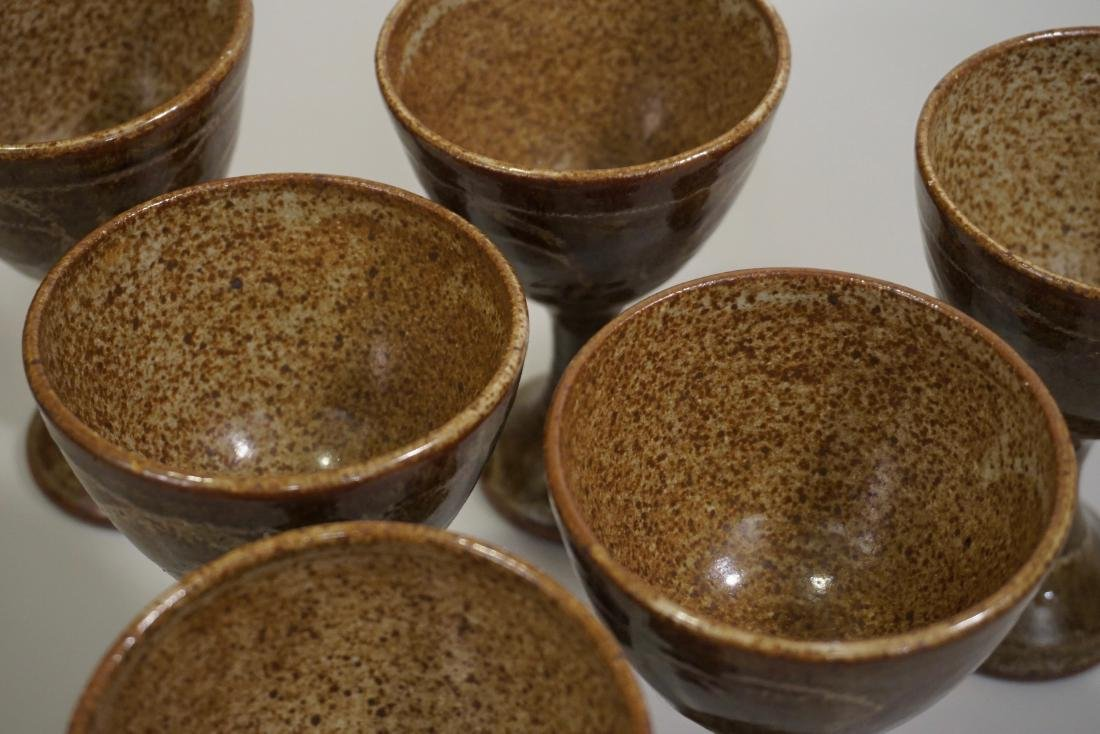 Mid Century Studio Pottery Stoneware Glazed Ceramic - 2