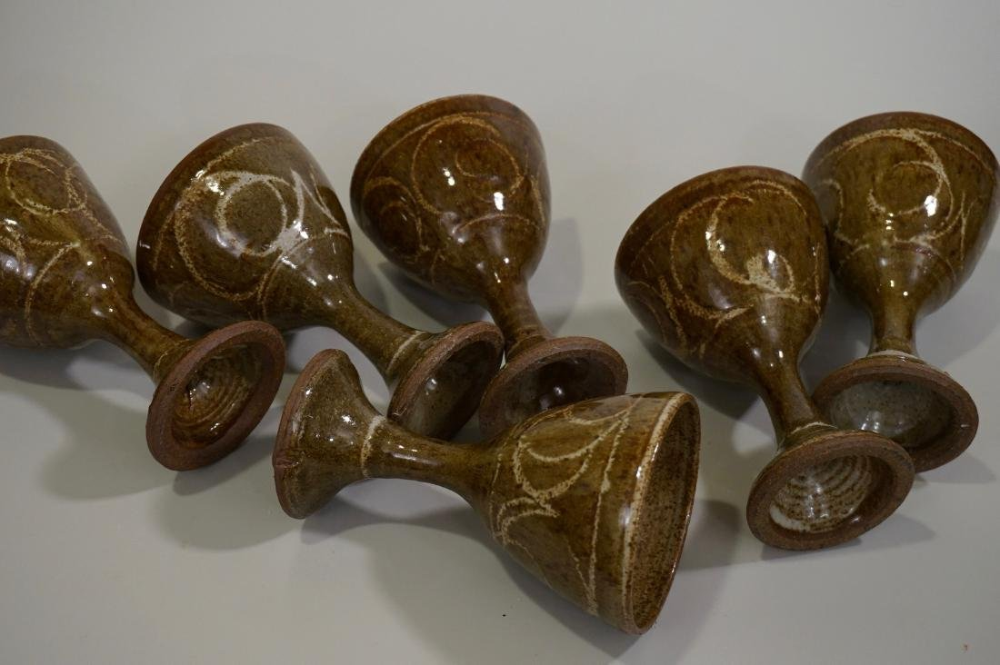 Mid Century Studio Pottery Stoneware Glazed Ceramic - 3