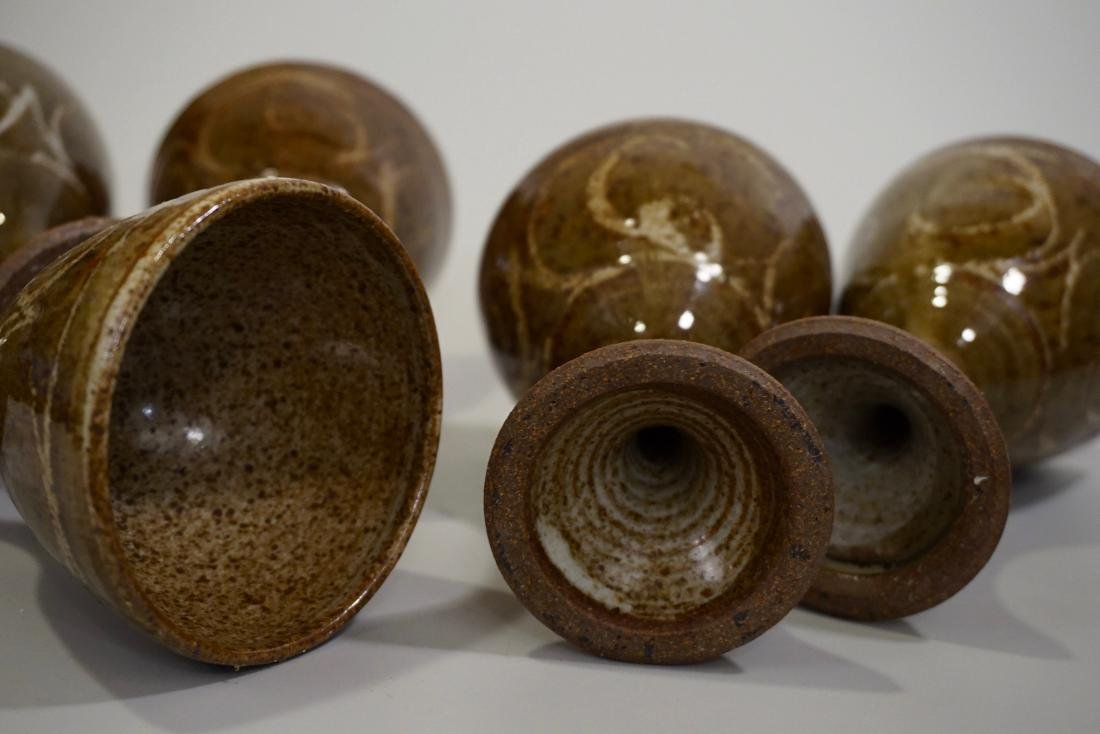 Mid Century Studio Pottery Stoneware Glazed Ceramic - 5