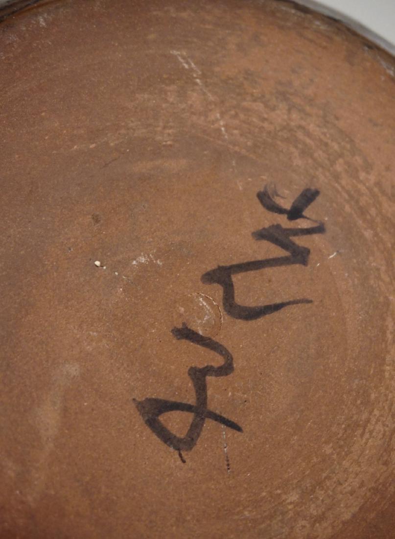 Granite Ware Pottery Bowl Signed Studio Mid century - 5