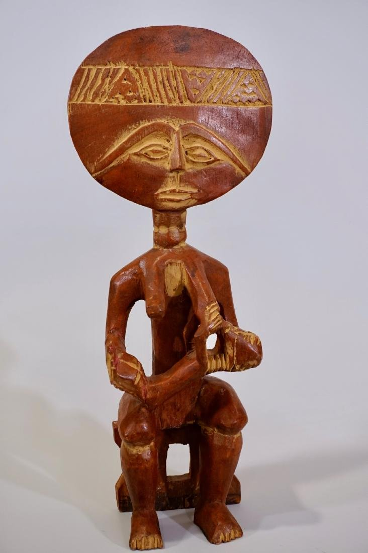 African Madonna Ashante Mother and Child Ethnic Ghana - 2