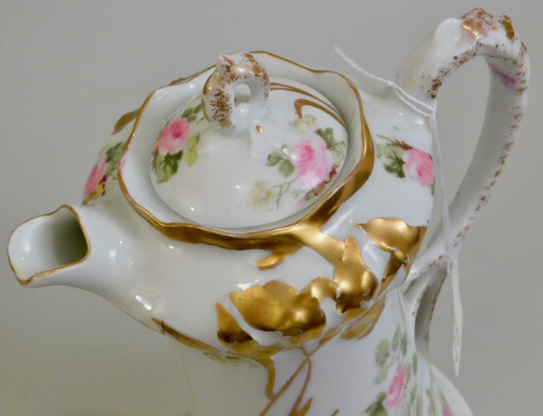 Antique Art Nouveau German Jugendstil Porcelain Pot - 3