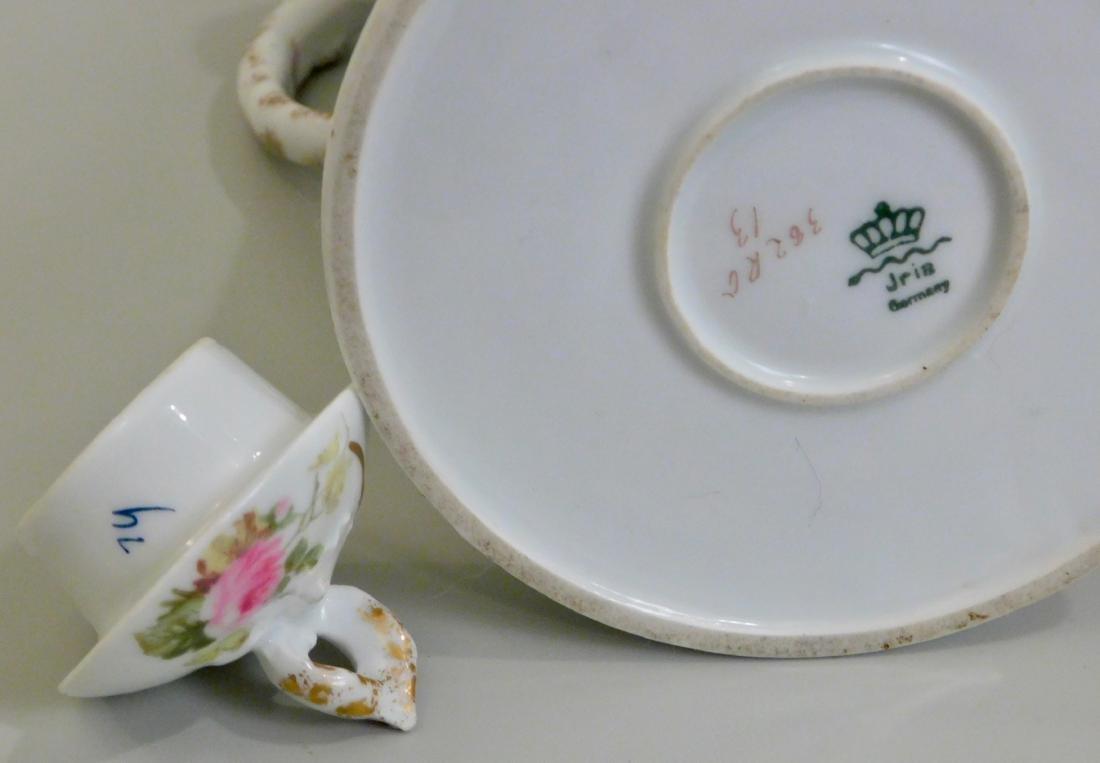 Antique Art Nouveau German Jugendstil Porcelain Pot - 4