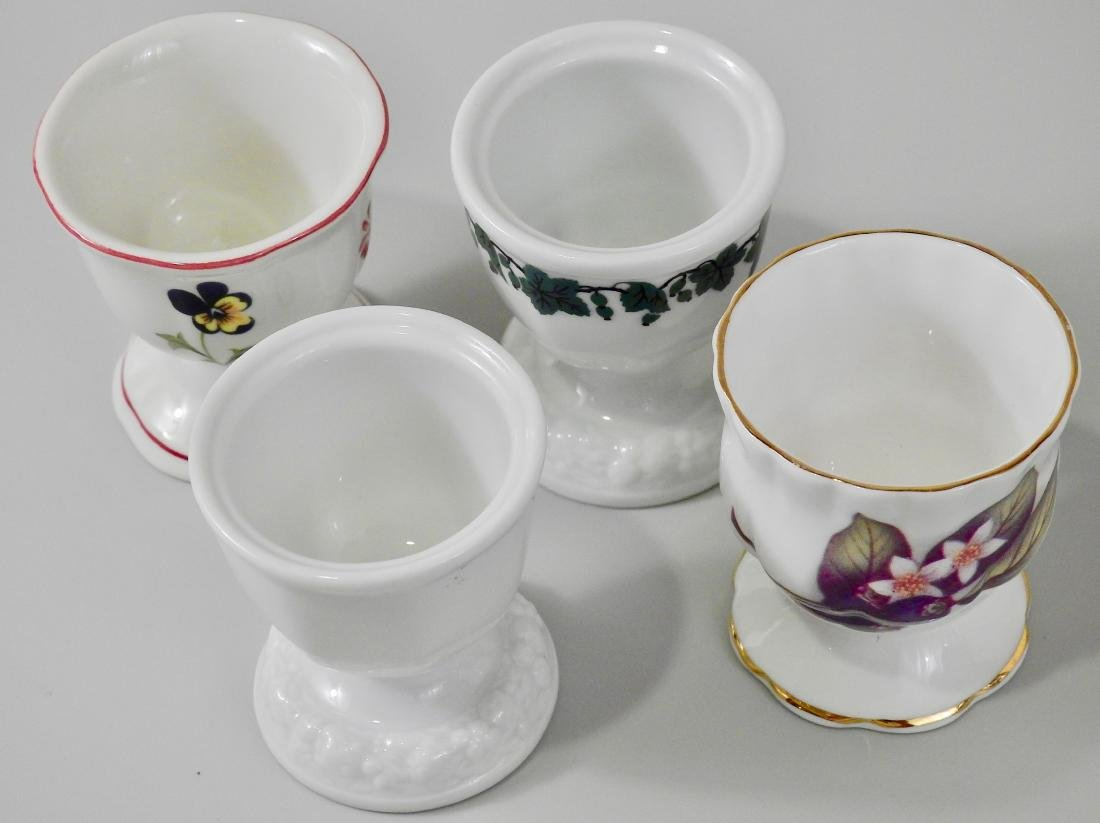 Lot of 4 Egg Serving Cups Villeroy and Boch English - 2