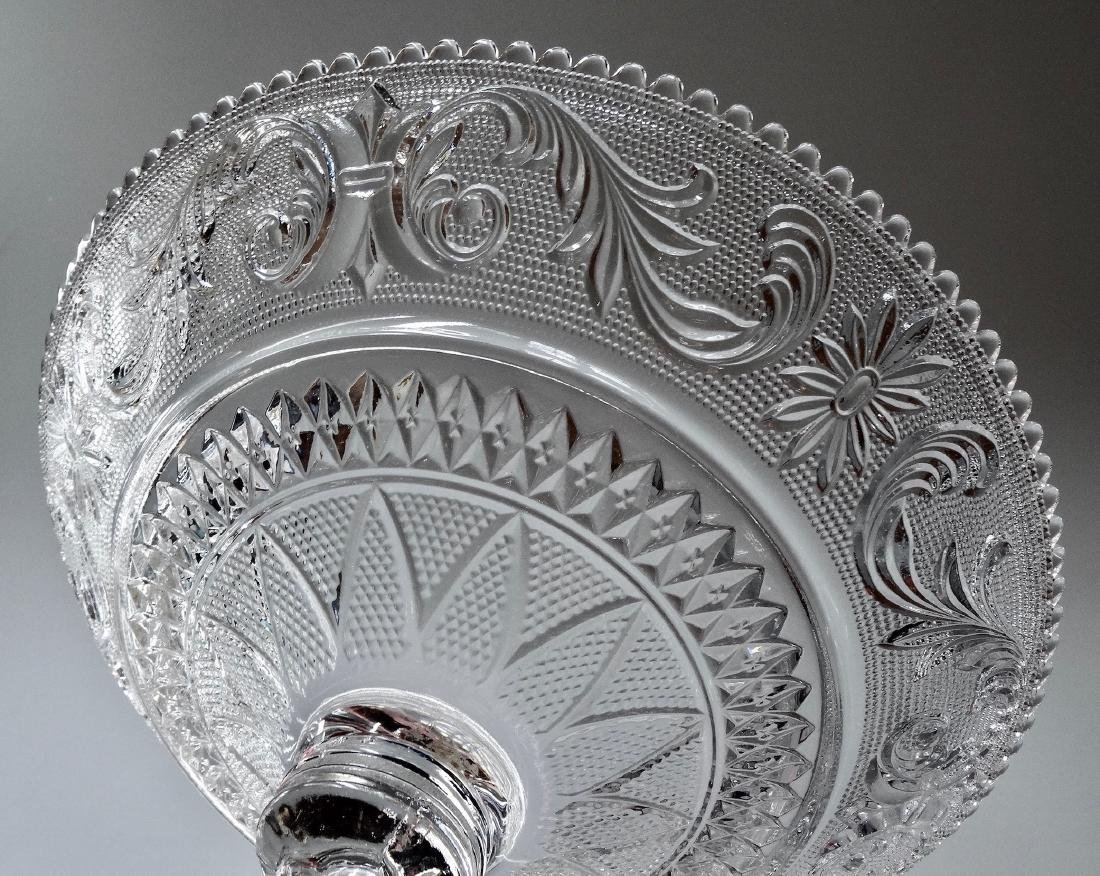 EAPG Pressed Glass Compote - 6