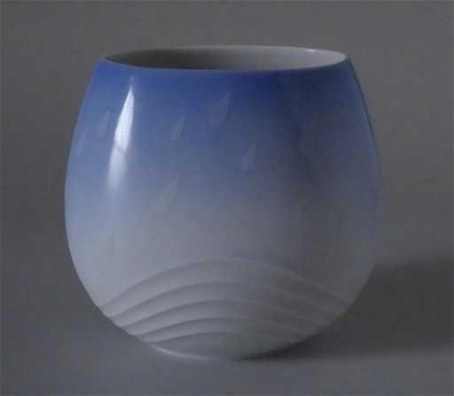Vintage Mid Century Rosenthal Studio Linie Vase Rainy