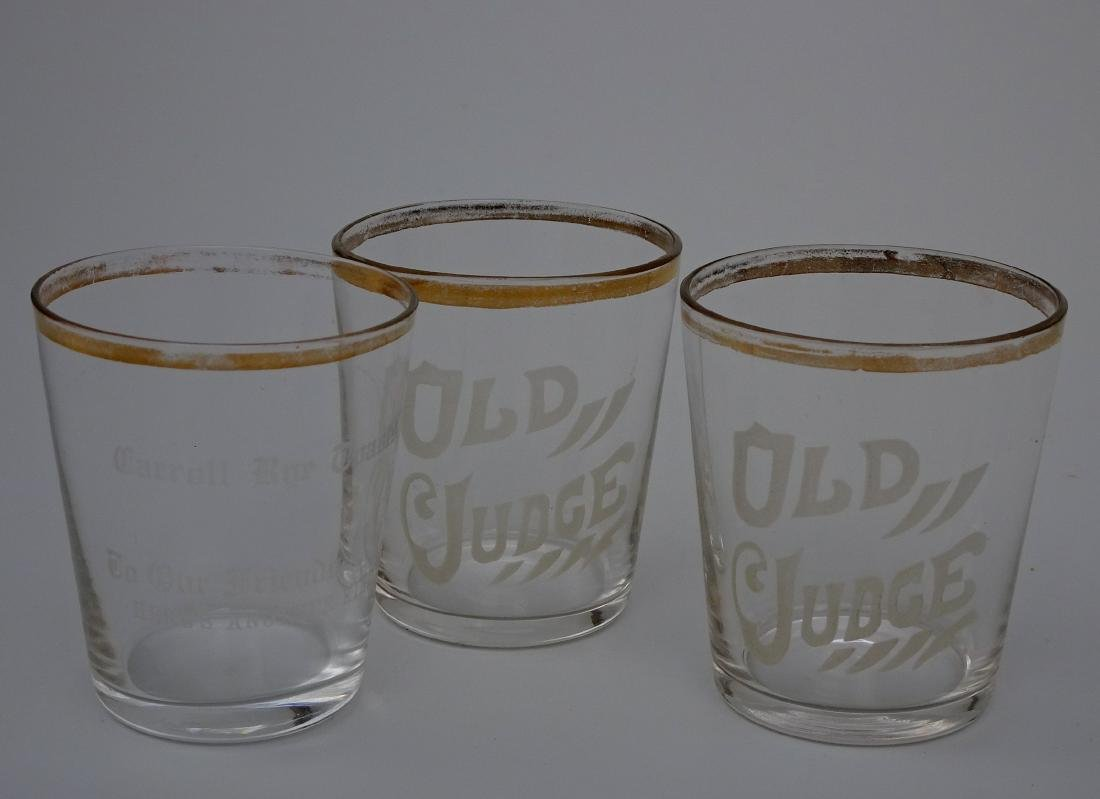 Antique Pre Prohibition Liquor Advertising Shot Glass