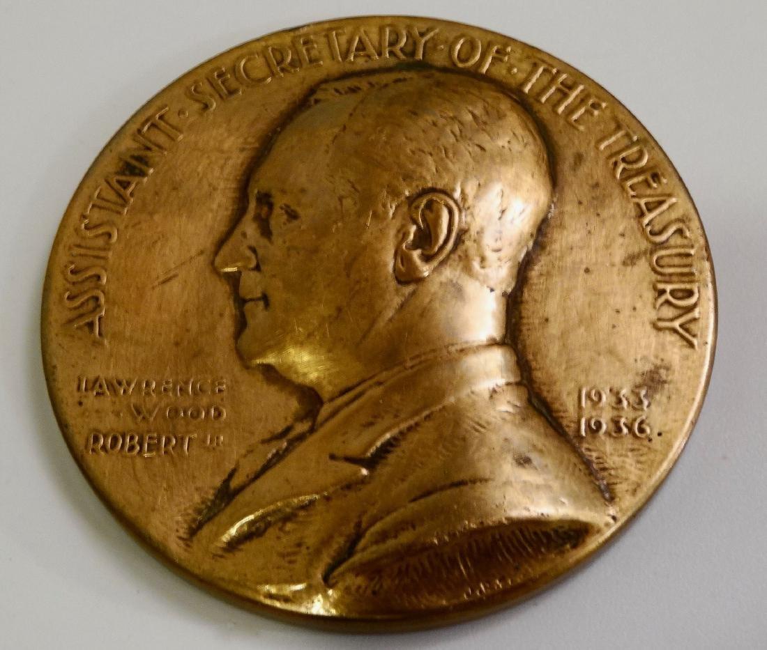 U.S.Mint Bronze Medal Lawrence Wood Robert Jr. Asst