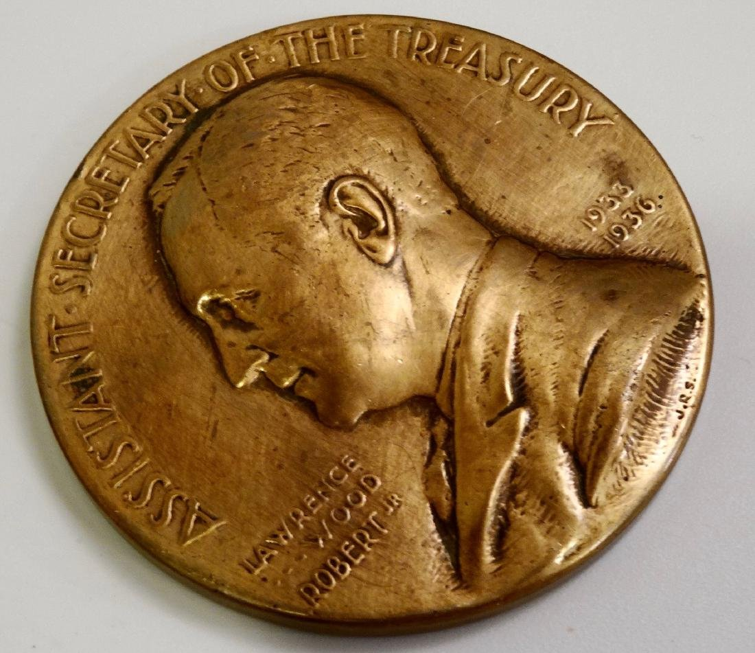 U.S.Mint Bronze Medal Lawrence Wood Robert Jr. Asst - 2
