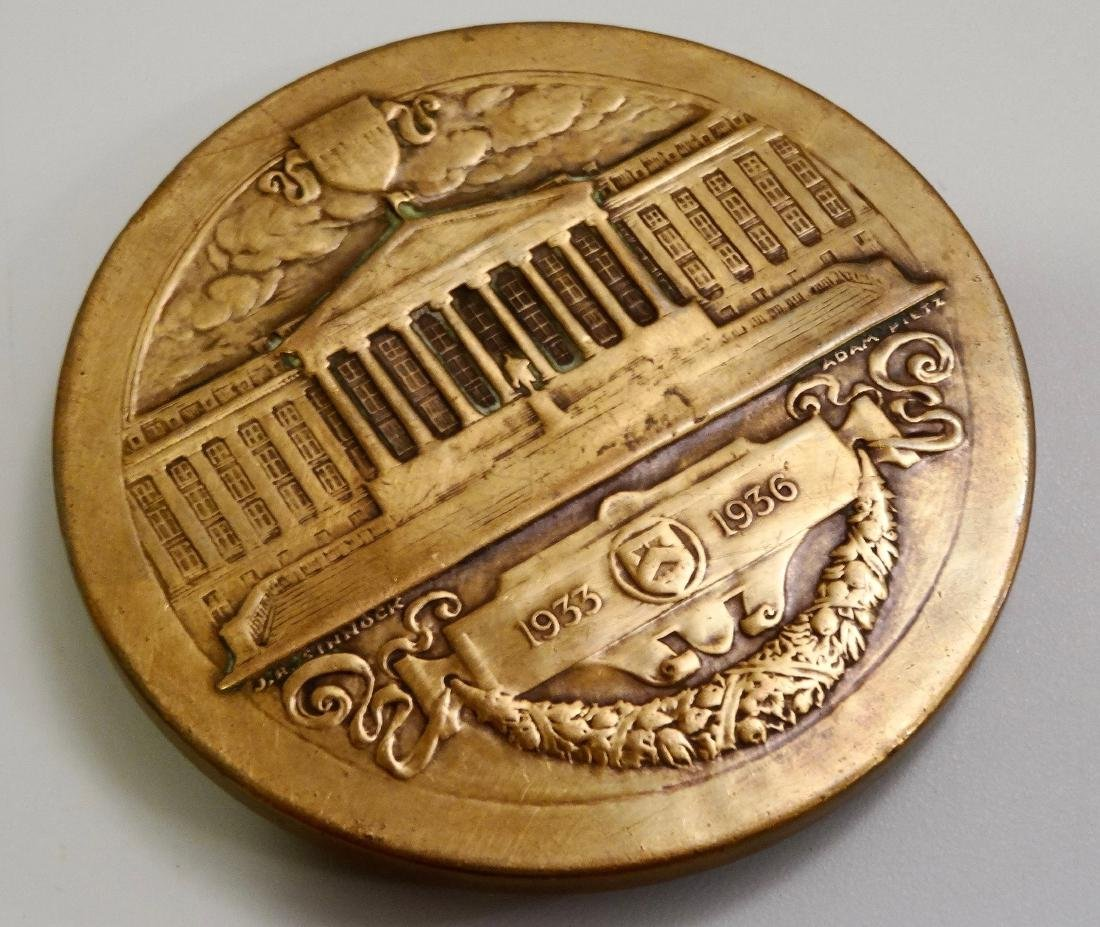 U.S.Mint Bronze Medal Lawrence Wood Robert Jr. Asst - 4