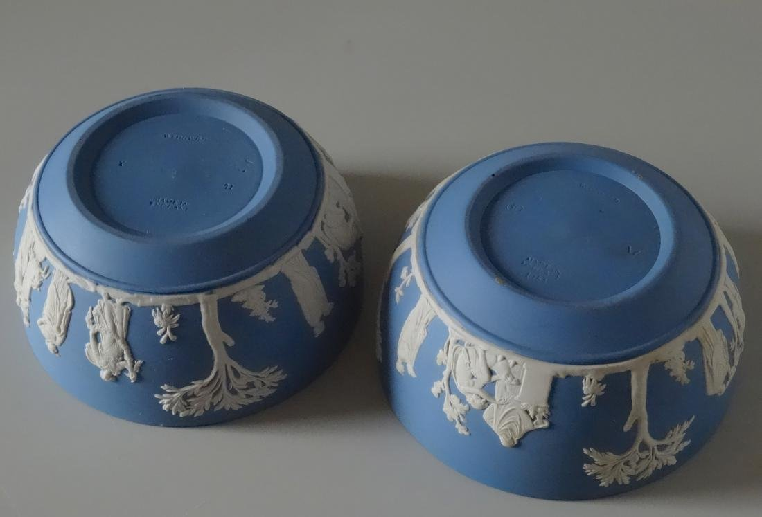 Wedgwood Pair Blue Jasper Large Bowl Lot of Two - 3