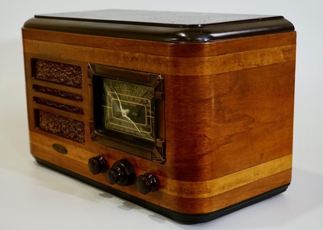 Jackson Bell Peter Pan Model 45 Tube Radio Broadcast - 4