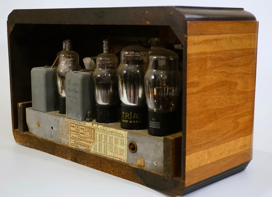 Jackson Bell Peter Pan Model 45 Tube Radio Broadcast - 5