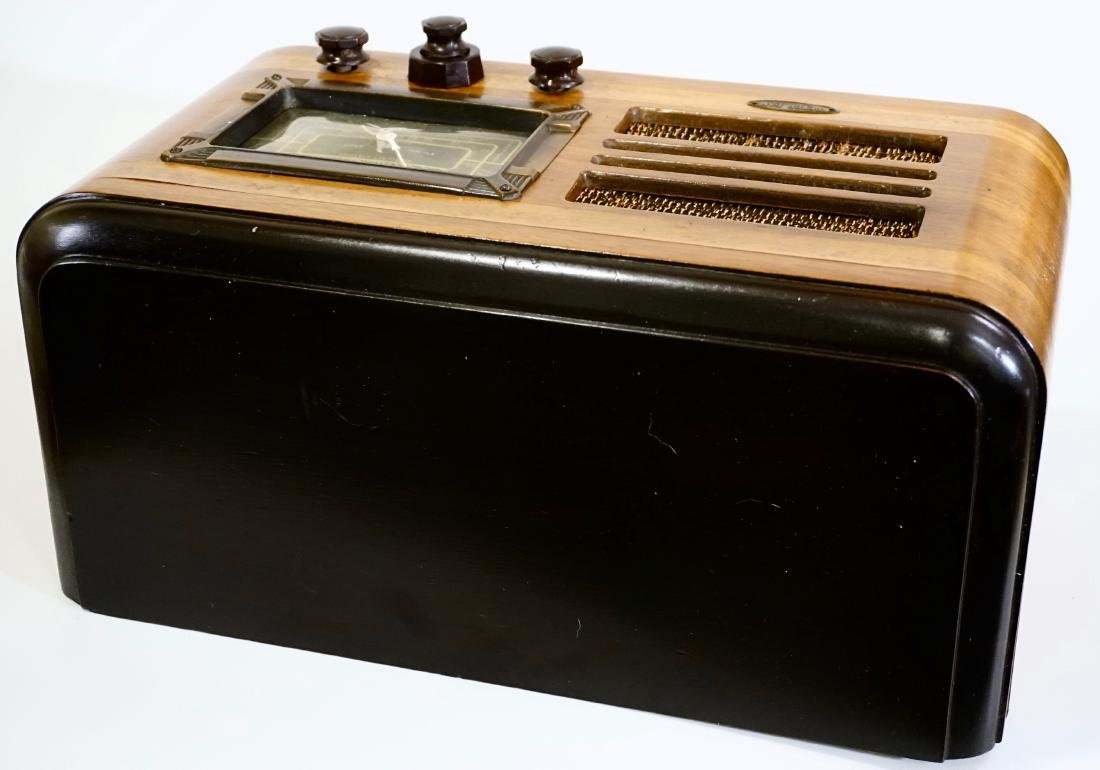Jackson Bell Peter Pan Model 45 Tube Radio Broadcast - 8