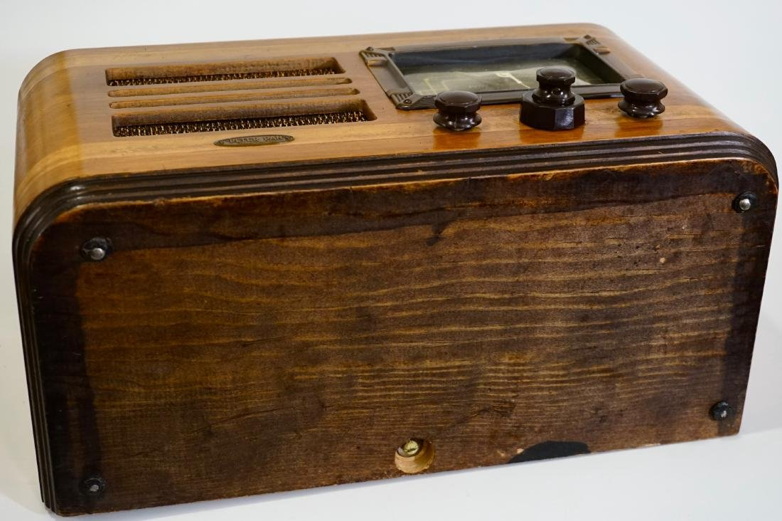 Jackson Bell Peter Pan Model 45 Tube Radio Broadcast - 9