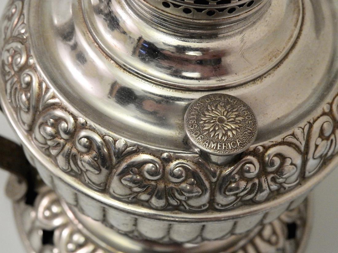 Rare Tiny Juno Antique Kerosene Lamp - 4