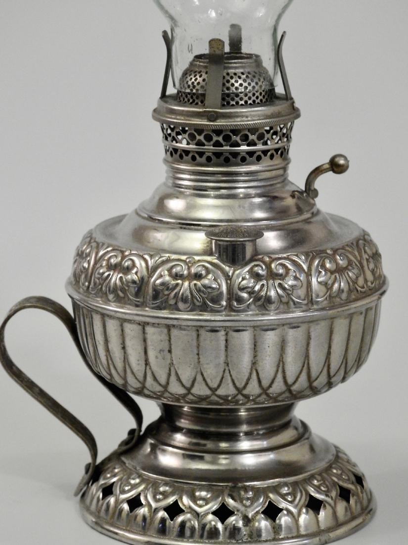 Rare Tiny Juno Antique Kerosene Lamp - 5