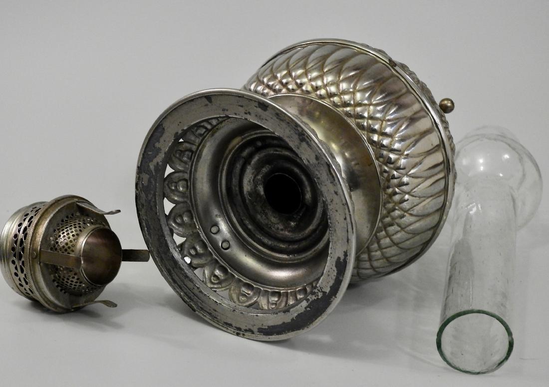 Rare Tiny Juno Antique Kerosene Lamp - 7