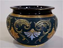 Doulton Lambeth Pot Antique Victorian Aesthetic