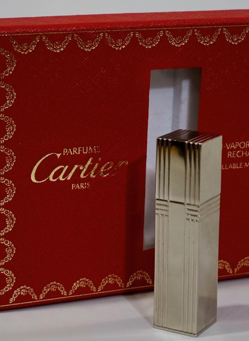 Cartier Refillable Perfume Atomizer Art Deco Style