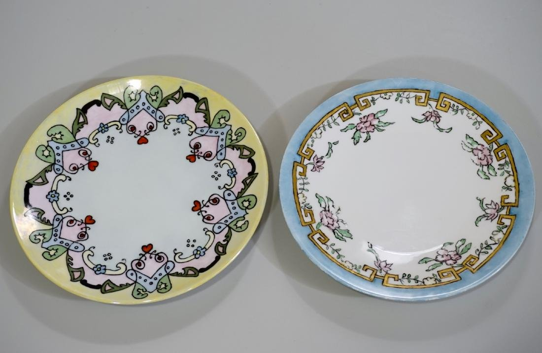 TV Limoges Porcelain Art & Craft Era Hand Painted