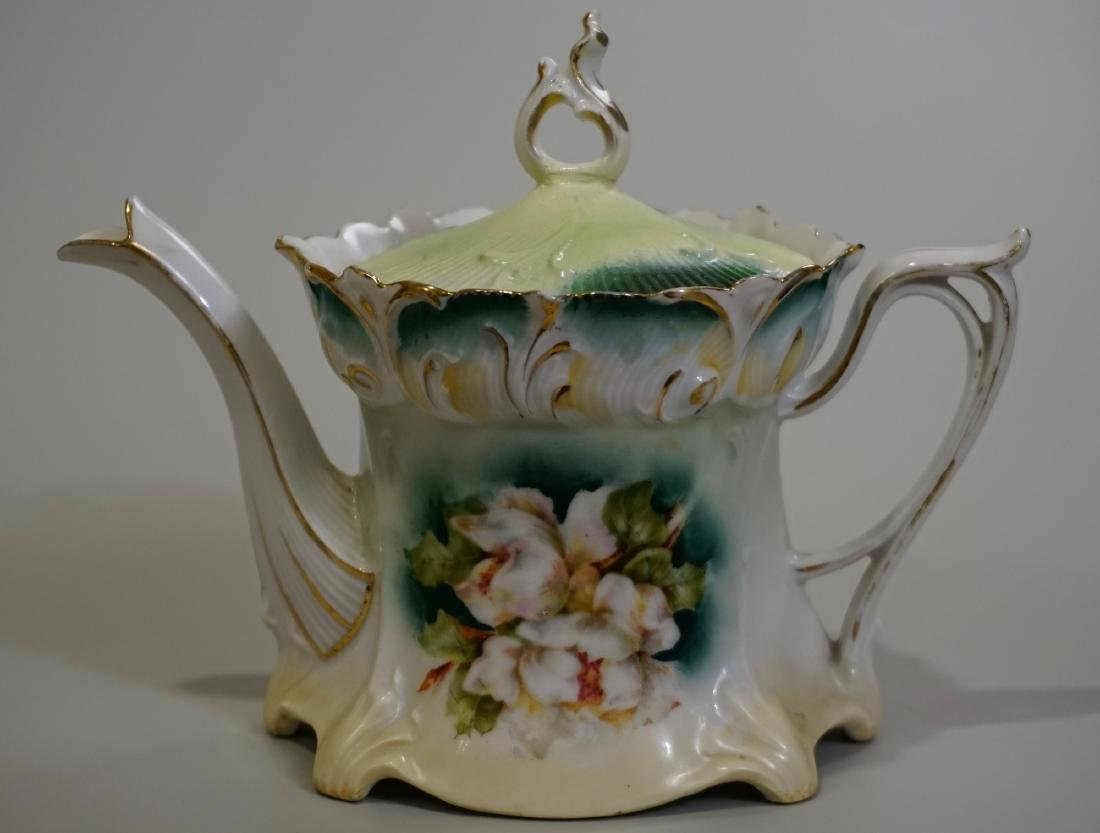 Antique RS Prussia Porcelain Teapot