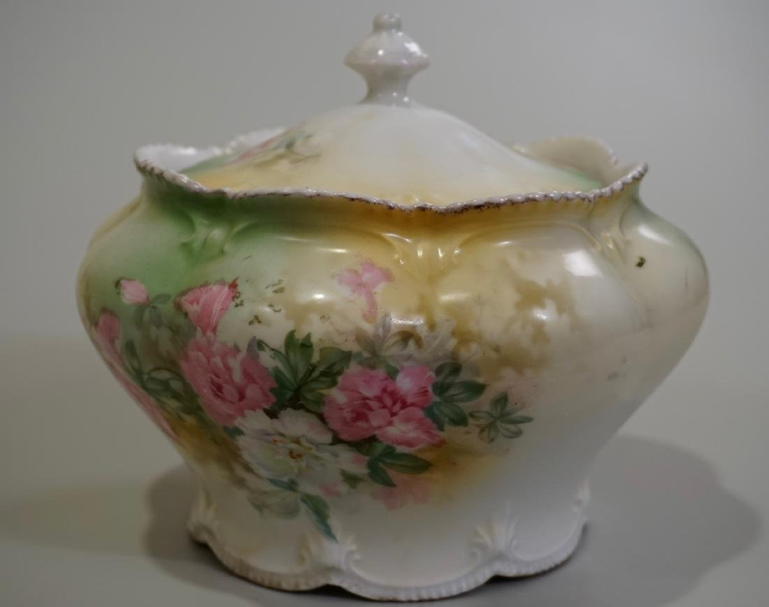 Antique RS Prussia Lidded Jar