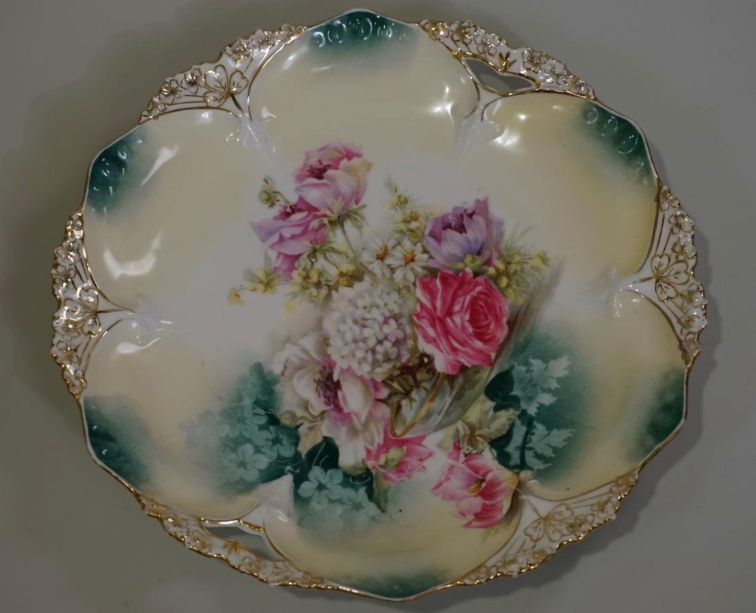 Antique RS Prussia Cake Platter 82 Mold