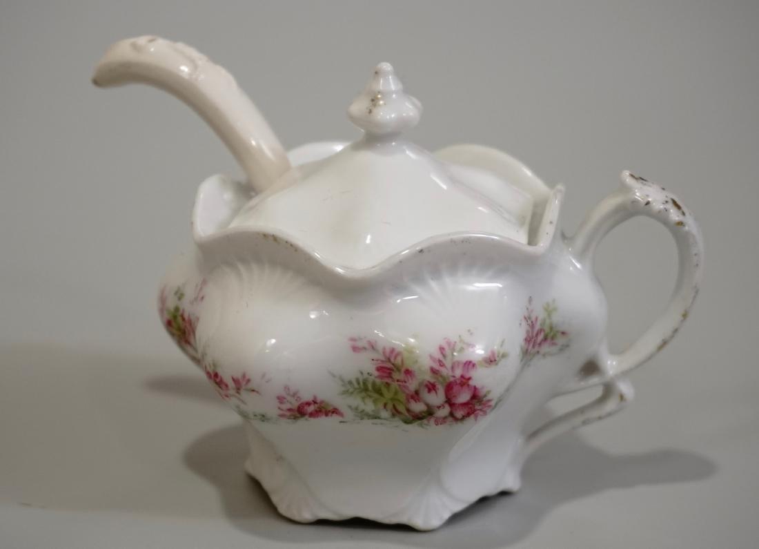 Antique Mustard Jar RC Prussia Porcelain