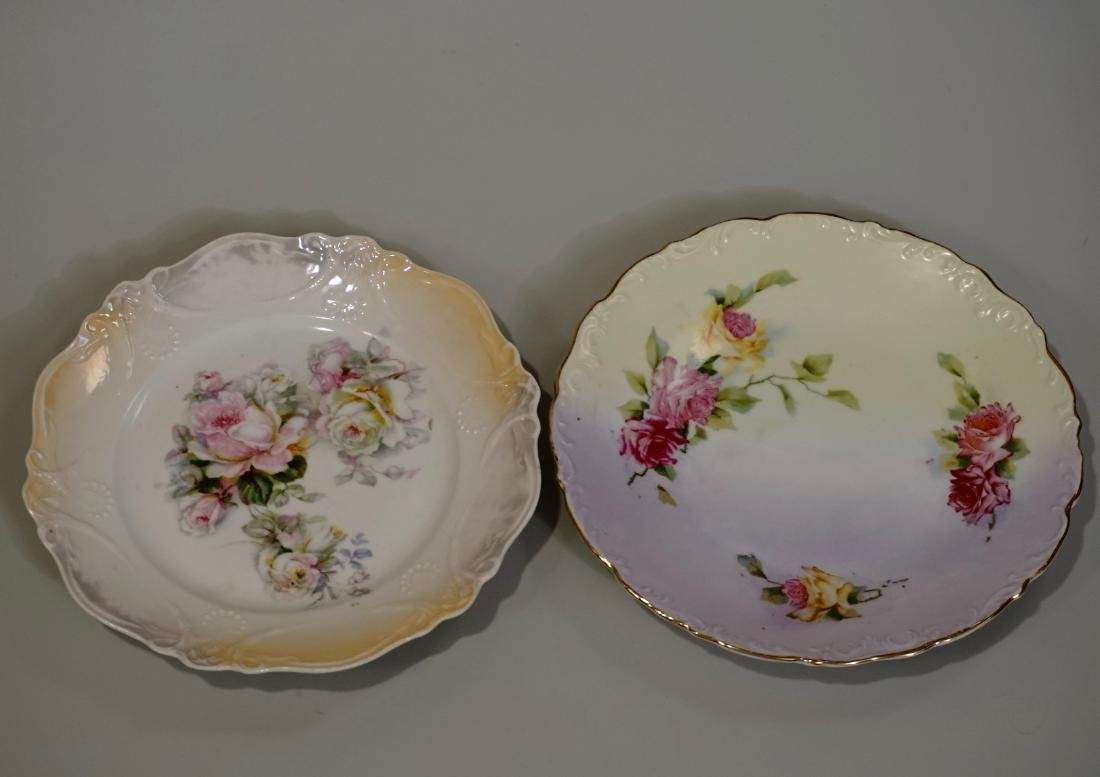 Wheelock Germany Porcelain Plate Together With Another