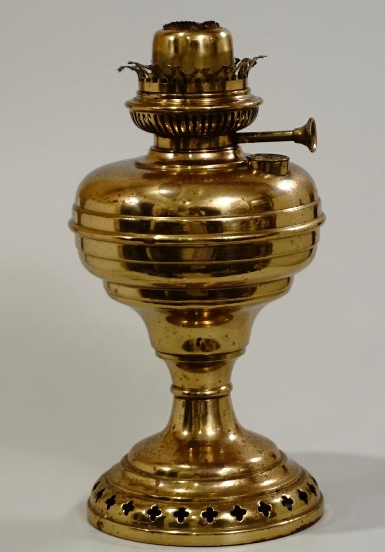 Matador Brass Kerosene Lamp L & B The Lampe Belge