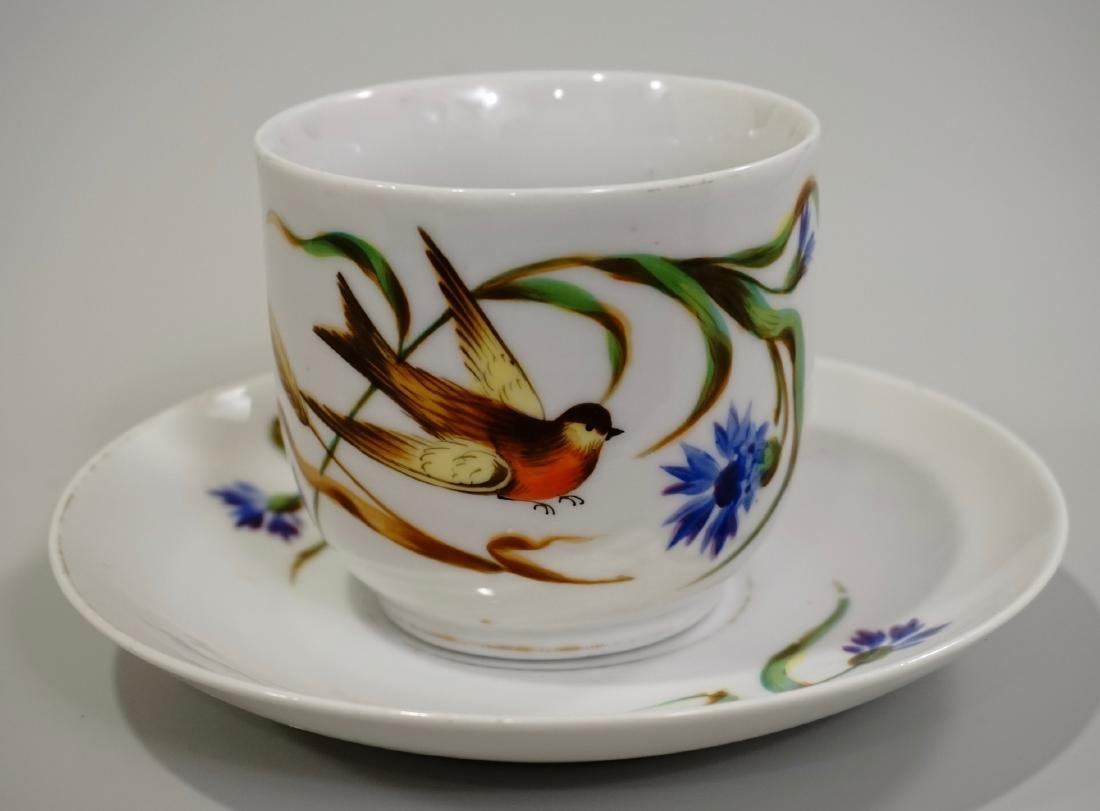 Continental Swallow Swift Tea Cup Saucer