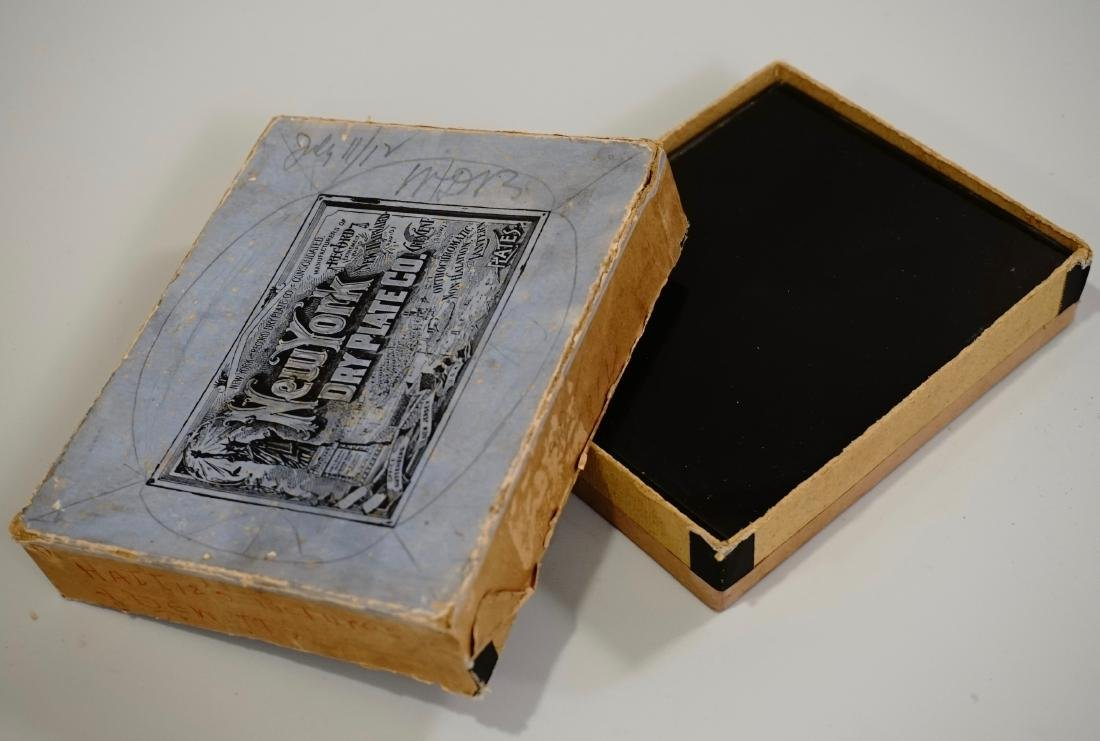 New York Dry Plate Co Antique Glass Negatives Children