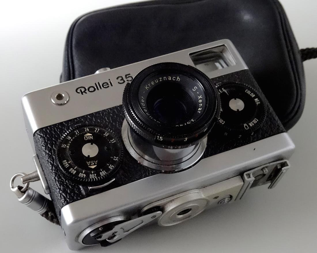 ROLLEI 35 film camera rare SCHNEIDER S XENAR 40mm 3.5