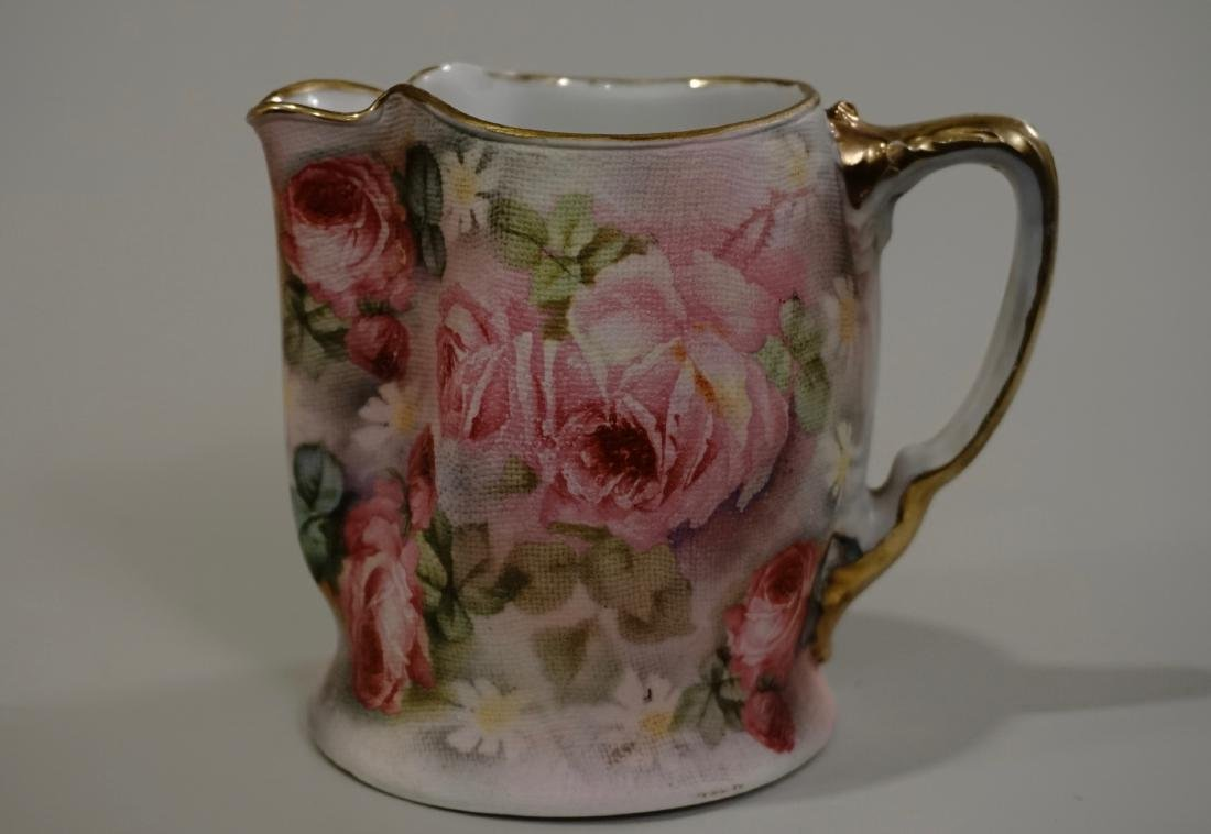Royal Bauerych Tapestry Creamer Rose Gobelin Cream
