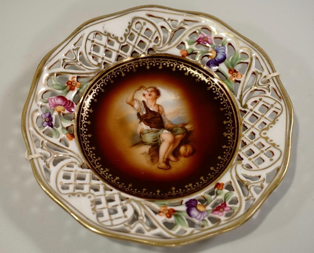 Miniature Dollhouse Dresden Schumann Porcelain