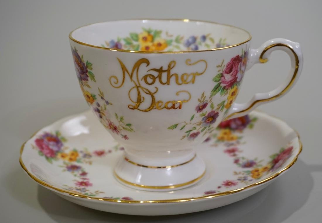 Mother Dear English Tuscan Fine Bone China Tea Cup