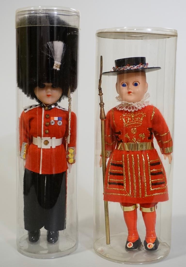 Vintage English Guards Souvenir Dolls Empire Made